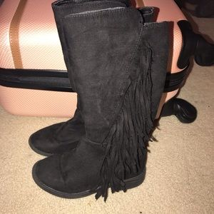 High fringe Rampage Girl boots